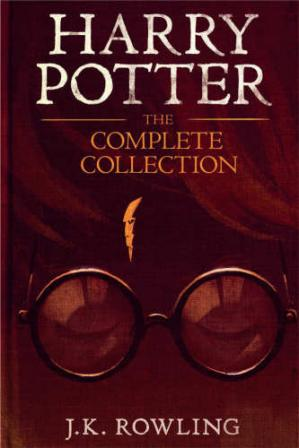 పుస్తక అట్ట Harry Potter: The Complete Collection