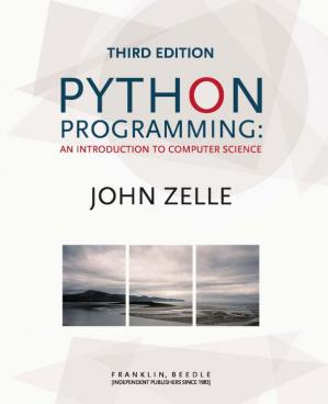 Book cover Python Programming: An Introduction to Computer Science