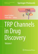 A capa do livro TRP Channels in Drug Discovery: Volume I
