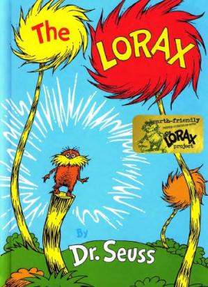 Sampul buku The Lorax