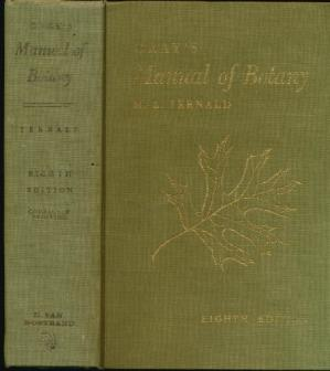 Обкладинка книги Gray's Manual of Botany A Handbook of the Flowering Plants and Ferns of the Central and Northeastern United States and Adjacent Canada