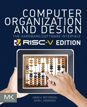 Book cover Computer Organization and Design: The Hardware Software Interface [RISC-V Edition]