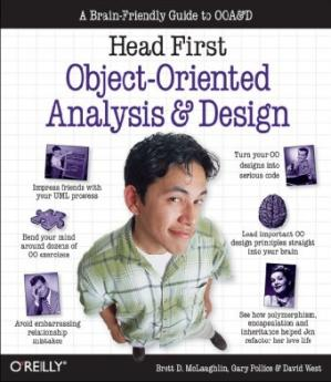 Book cover Head First Object-Oriented Analysis and Design