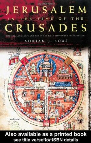 पुस्तक कवर Jerusalem in the Time of the Crusades