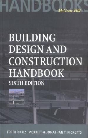 Book cover Building Design and Construction Handbook, 6th Edition
