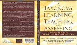 Book cover A taxonomy for learning teaching and assessing: a revision of Bloom`s taxonomy of educational objetives
