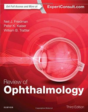 Book cover Review of Ophthalmology