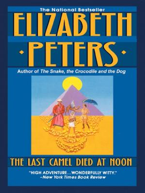 Book cover The Last Camel Died at Noon