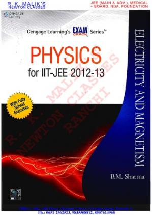 Book cover Physics for IIT-JEE 2012-2013: Electricity & Magnetism