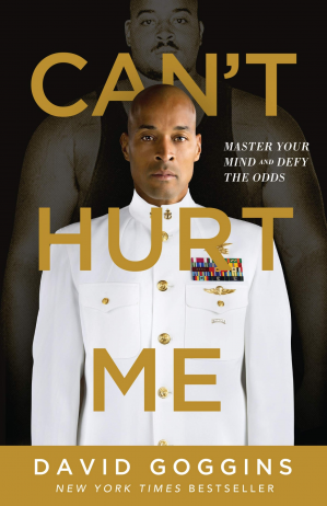 Book cover Can't Hurt Me: Master Your Mind and Defy the Odds