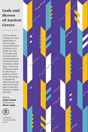 Couverture du livre Gods and Heroes of Ancient Greece