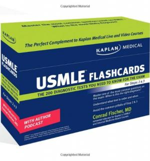 Buchdeckel Kaplan Medical USMLE Diagnostic Test Flashcards: The 200 Diagnostic Test Questions You Need to Know for the Exam for Steps 2 & 3