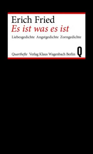 Book cover Es ist was ist