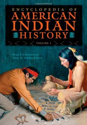 Portada del libro Encyclopedia of American Indian History (4 volume set)