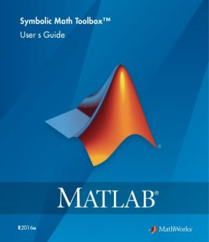 书籍封面 Matlab Symbolic Math Toolbox documentation