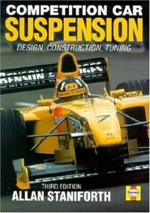 Book cover Competition Car Suspension: Design, Construction, Tuning