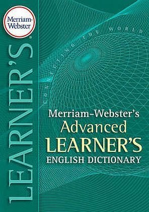 Book cover Merriam-Webster's Advanced Learner's English Dictionary