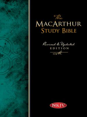 Book cover The MacArthur Study Bible, NKJV