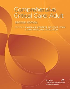 A capa do livro Comprehensive Critical Care: Adult
