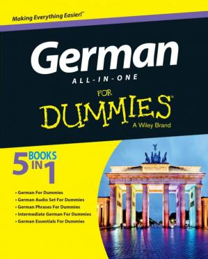 Book cover German All-in-One for Dummies