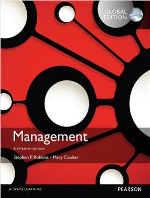 Book cover Management, Global Edition