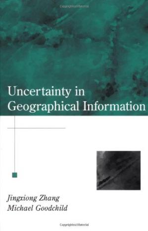 Okładka książki Uncertainty in Geographical Information (Research Monographs in Geographic Information Systems,)