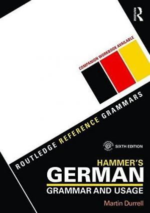 Buchdeckel Hammer's German Grammar and Usage