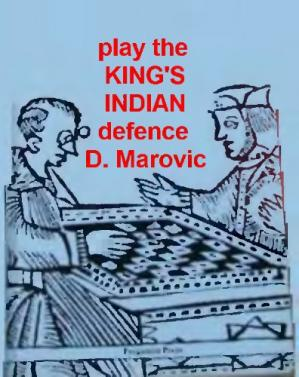 Buchdeckel Play the King's Indian Defence (Pergamon Chess Openings)