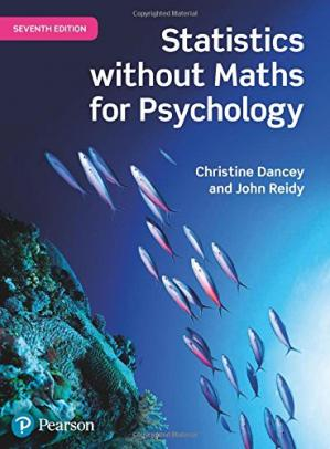 Book cover Statistics Without Maths for Psychology
