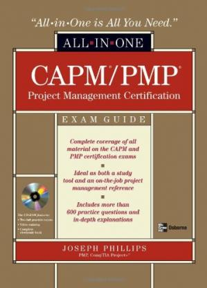 A capa do livro CAPM PMP Project Management All-in-One Exam Guide (All-in-one)