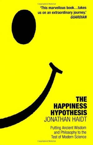 Book cover The Happiness Hypothesis: Putting Ancient Wisdom to the Test of Modern Science