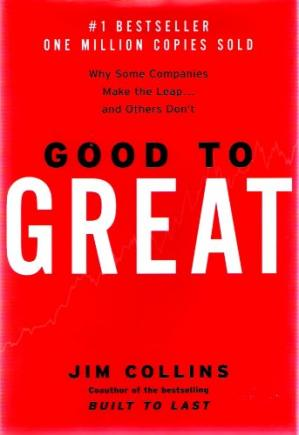 Okładka książki Good to great: why some companies make the leap--and others don't