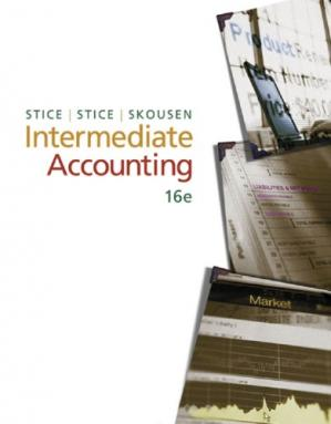 Book cover Intermediate Accounting, 16th Edition