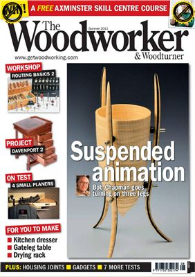 Book cover The Woodworker & Woodturner 2011 Summer