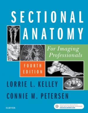 Portada del libro Sectional Anatomy for Imaging Professionals, Fourth Edition