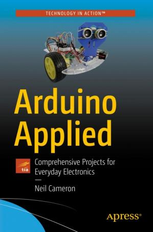 A capa do livro Arduino Applied: Comprehensive Projects for Everyday Electronics
