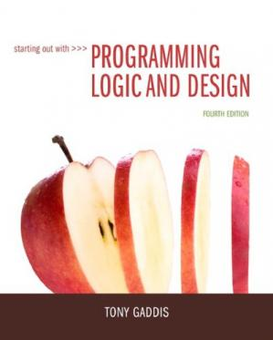 Book cover Programming Logic and Design
