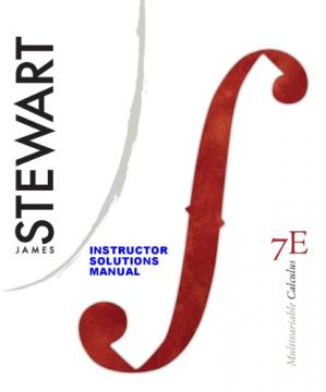 Copertina Complete Solutions Manual for: MULTIVARIABLE CALCULUS Early Transcendentals 7th Edition by Stewart