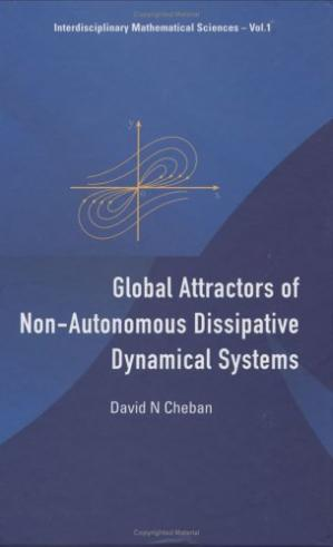 Обкладинка книги Global attractors of non-autonomous dissipative dynamical systems