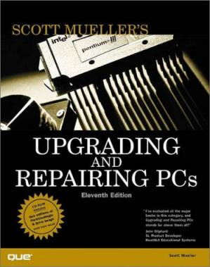 غلاف الكتاب Upgrading and Repairing PCs, w. CD-ROM