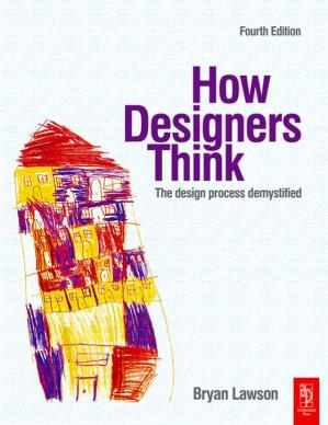 Okładka książki How Designers Think: The Design Process Demystified, Fourth Edition