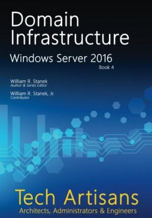 Book cover Windows Server 2016: Domain Infrastructure