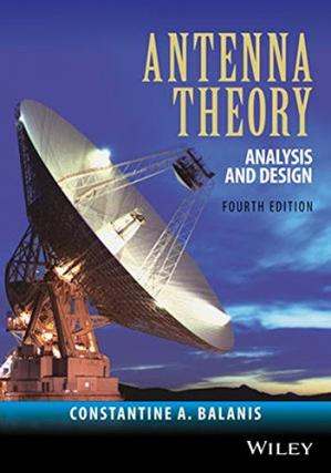 Book cover Antenna Theory: Analysis and Design