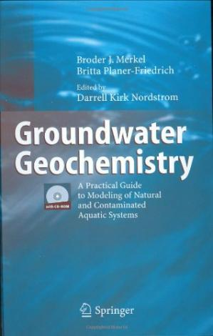 表紙 Groundwater Geochemistry