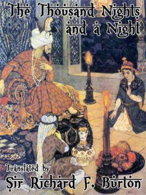 Обложка книги The Book of the Thousand Nights and a Night Volume 1-10