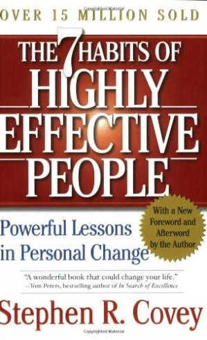 पुस्तक कवर The 7 habits of highly effective people: restoring the character ethic