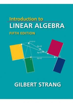 Book cover Introduction to Linear Algebra, Fifth Edition