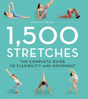 Обложка книги 1,500 Stretches: The Complete Guide to Flexibility and Movement