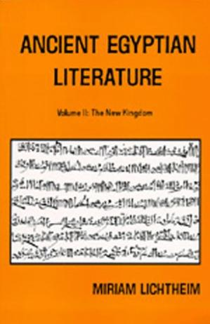 Book cover Ancient Egyptian Literature: Volume II: The New Kingdom (Near Eastern Center, UCLA)