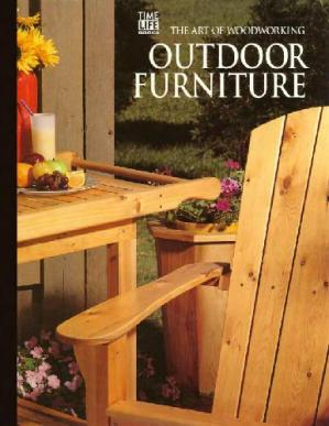 Portada del libro The Art of Woodworking Outside furniture